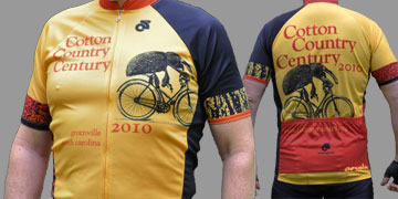 2010 Cotton Country Century Jersey