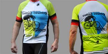 2011 Cotton Country Century jersey